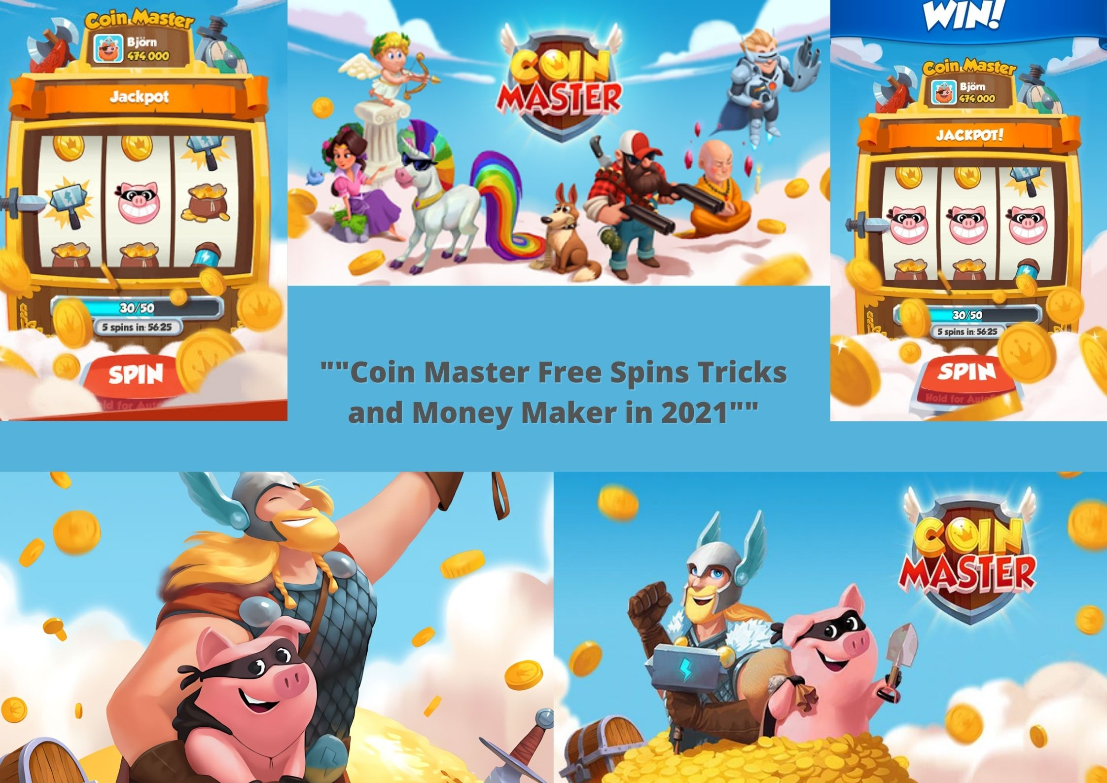 Coin Master Free Spins Tricks and Coins Saver in 2021